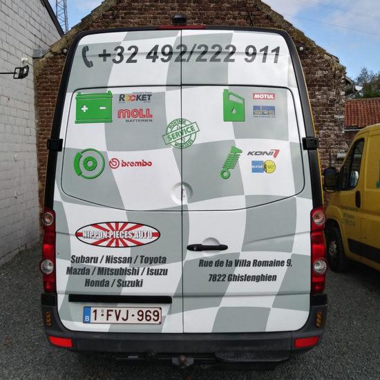 Full covering d'une camionnette - Grafipix