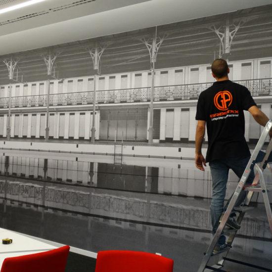 Habillage de mur - Grafipix
